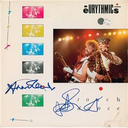 Eurythmics Signed Album