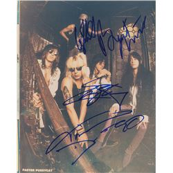 Faster Pussycat Signed Photograph