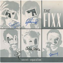 The Fixx Signed Album