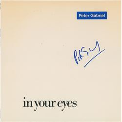Peter Gabriel Signed Album