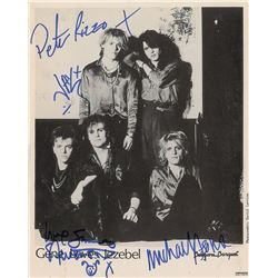 Gene Loves Jezebel Signed Photograph