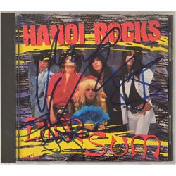 Hanoi Rocks Signed CD