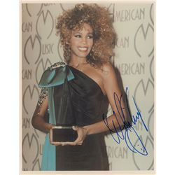 Whitney Houston Signed Photograph