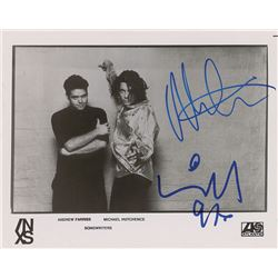 INXS: Michael Hutchence and Andrew Farriss Signed Photograph