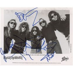 Iron Maiden Signed Photograph