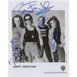 Jane's Addiction Signed Photograph