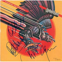 Judas Priest Signed Album