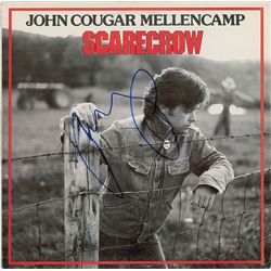 John Mellencamp Signed Album
