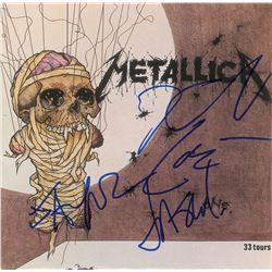 Metallica Signed 45 RPM Record