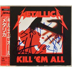 Metallica Signed CD