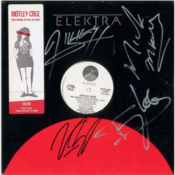 Motley Crue Signed Album