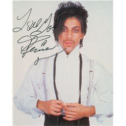 Prince Oversized Signed Photograph
