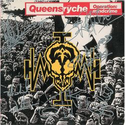 Queensryche Signed Album