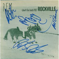 R.E.M. Signed 45 RPM Record