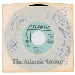 Ratt Signed 45 RPM Record