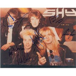 Shy Signed Photograph