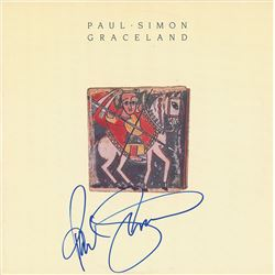 Paul Simon Signed Album