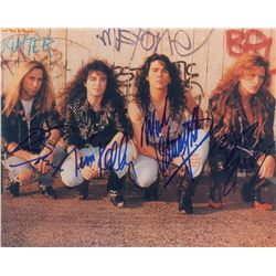 Slaughter Signed Photograph