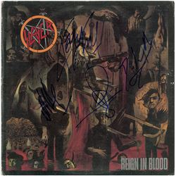 Slayer Signed Album
