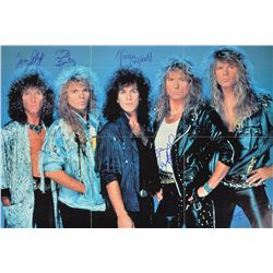 Whitesnake Signed 45 RPM Record
