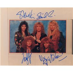 Whitesnake Signed Photograph