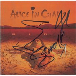 Alice in Chains Signed CD Booklet