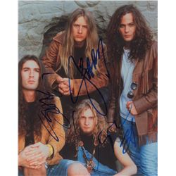 Alice in Chains Signed Photograph