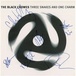 The Black Crowes Signed Album Flat