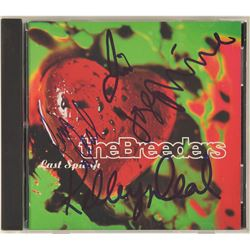 The Breeders Signed CD