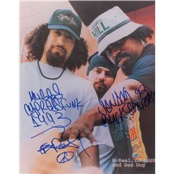 Cypress Hill Oversized Signed Photograph
