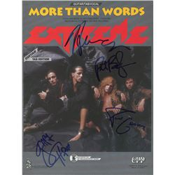 Extreme Signed Sheet Music