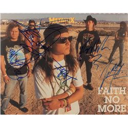 Faith No More Signed Photograph