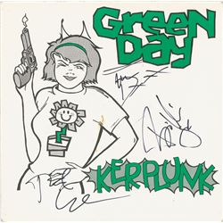 Green Day Signed Album