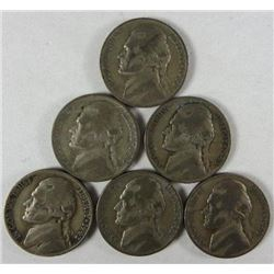 1943-P Jefferson Nickels