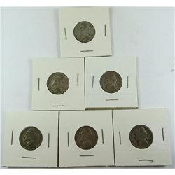 1943 Jefferson Nickels