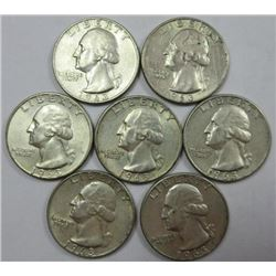 1963-D Washington Quarters