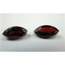 1.73 ct. Red Ant Hill Garnets  matched pair
