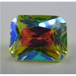 5.63 ct. Canary Yellow Mercury Mystic Topaz  pastel color shift
