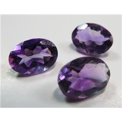 2.0 ct. Amethyst Set of 3