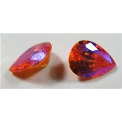 2.0 ct. Topaz Mystic Mars Matched Pair