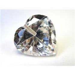 9.57 ct. Colorless Zircon AAA