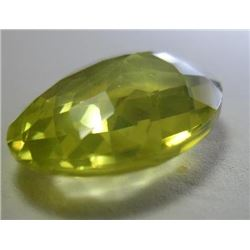 17.23 ct, Yellow Meteoric Pallasite