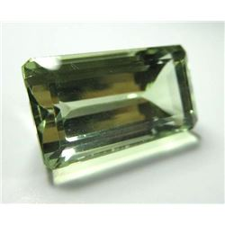 24.75 ct, Green Amethyst