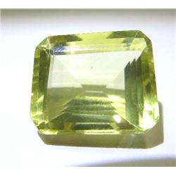 6.84 ct. Dichroic Yellow-Green Tourmaline  rare