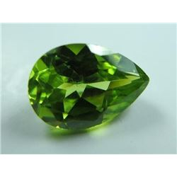 2.84 ct, Palasite Peridot from a Meteorite