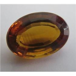 2.52 ct, Citrine Untreated antique oval cut