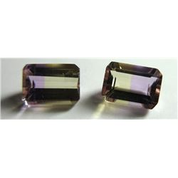 2.20 ct, Ametrines Matched Pair