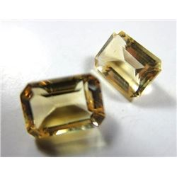 2.0 ct. Citrine Matched Pair