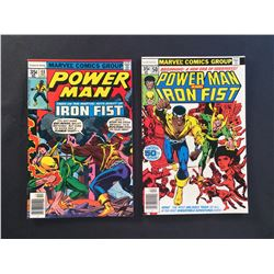 POWER MAN #48 & 50 (1977-78) #48 (1ST MEETING CAGE & IRON FIST) #50 (IRON-FIST JOINS CAGE) HIGHER