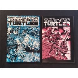 TEENAGE MUTANT NINJA TURTLES #1 & #3 (1985)  (3RD PRINT) ORIGIN  & 1ST APP (PRICE STICKER ON COVER)